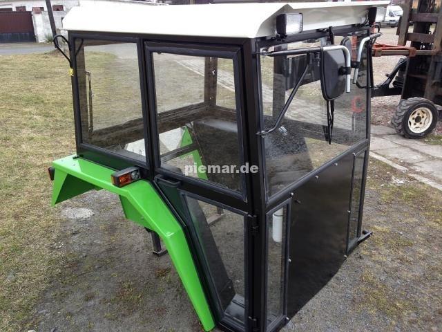 traktorkabine f r traktor bis ca 50ps in ral6018 piemar. Black Bedroom Furniture Sets. Home Design Ideas
