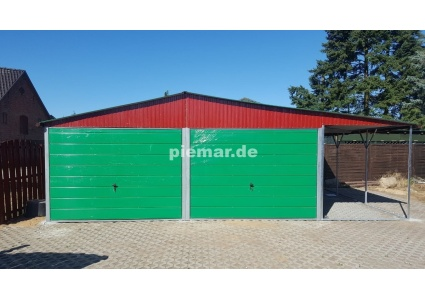 blechgarage-in-gruen-mit-carport